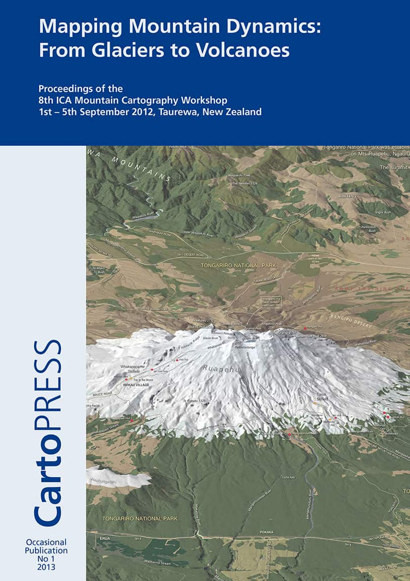 Mapping Mountain Dynamics from Glaciers to Volcanoes